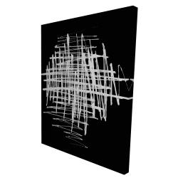 Canvas 36 x 48 - 3D - Contrast
