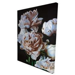 Canvas 36 x 48 - 3D - Peonies