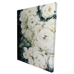 Canvas 36 x 48 - 3D - Garden roses