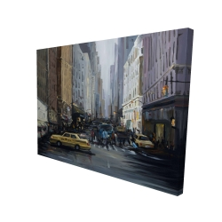 Canvas 36 x 48 - 3D - In the city
