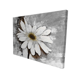 Canvas 36 x 48 - 3D - Abstract daisy