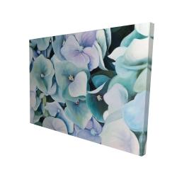 Canvas 36 x 48 - 3D - Hydrangea plant