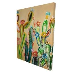 Canvas 36 x 48 - 3D - Desert gems