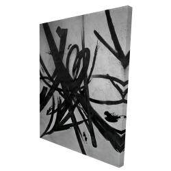 Canvas 36 x 48 - 3D - Circular strokes