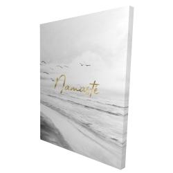 Canvas 36 x 48 - 3D - Namaste