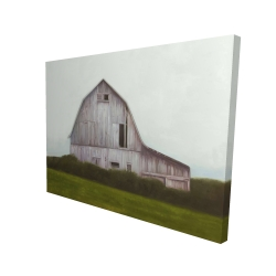 Canvas 36 x 48 - 3D - Rustic barn
