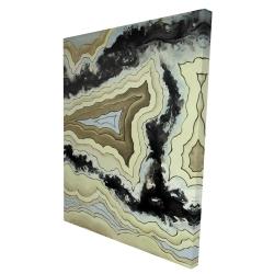 Canvas 36 x 48 - 3D - Lace agate