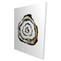 Canvas 36 x 48 - 3D - Golden agate