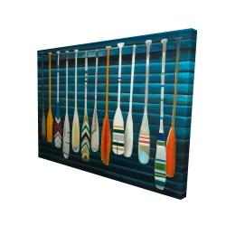 Canvas 36 x 48 - 3D - Paddles