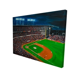 Canvas 36 x 48 - 3D - Baseball game