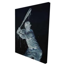 Canvas 36 x 48 - 3D - Baseball player