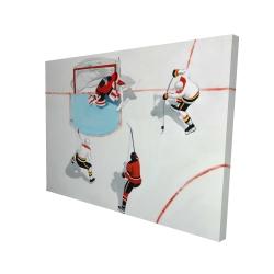 Canvas 36 x 48 - 3D - Eventful hockey game