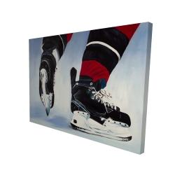 Canvas 36 x 48 - 3D - Hockey player