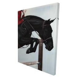 Canvas 36 x 48 - 3D - Riding competition