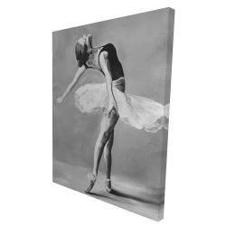 Canvas 36 x 48 - 3D - Classic ballet dancer