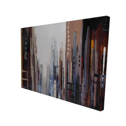 Canvas 36 x 48 - 3D - Abstract buildings