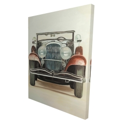 Canvas 36 x 48 - 3D - Old 1920s luxury car