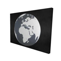 Canvas 36 x 48 - 3D - Earth