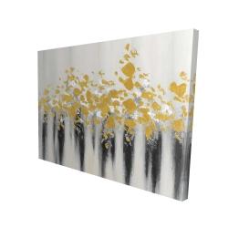 Canvas 36 x 48 - 3D - Small golden spots