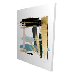 Canvas 36 x 48 - 3D - Pastel stroke