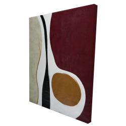 Canvas 36 x 48 - 3D - Multiform