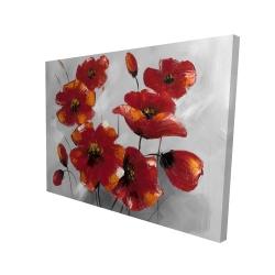 Canvas 36 x 48 - 3D - Anemone flowers
