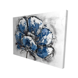 Canvas 36 x 48 - 3D - Small flower