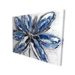 Canvas 36 x 48 - 3D - Blue petal