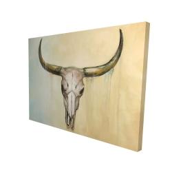 Canvas 36 x 48 - 3D - Cow skull