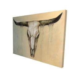 Canvas 36 x 48 - 3D - Bull skull