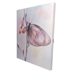 Canvas 36 x 48 - 3D - Delicate butterfly