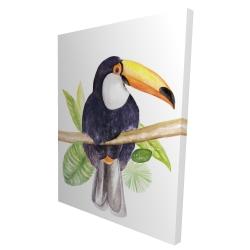 Canvas 36 x 48 - 3D - Toucan