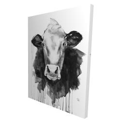 Canvas 36 x 48 - 3D - Cow