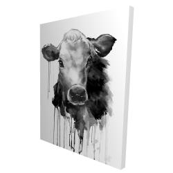 Canvas 36 x 48 - 3D - Jersey cow