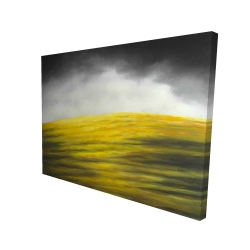 Canvas 36 x 48 - 3D - Yellow hill
