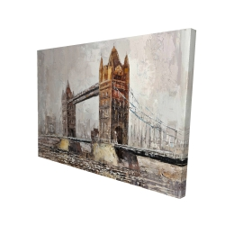 Canvas 36 x 48 - 3D - London tower bridge