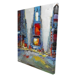 Canvas 36 x 48 - 3D - Abstract and colorful buildings