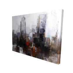 Canvas 36 x 48 - 3D - Obscure city