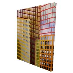 Canvas 36 x 48 - 3D - Skyscrapers