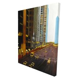 Canvas 36 x 48 - 3D - New york city 9th street