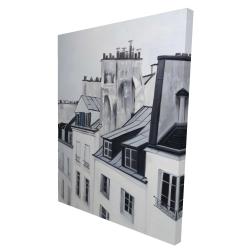 Canvas 36 x 48 - 3D - Historical buildings