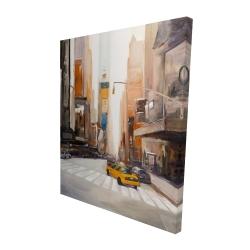 Canvas 48 x 60 - 3D - New-york city center