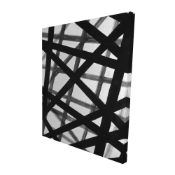 Canvas 48 x 60 - 3D - Abstract bold lines