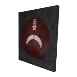 Canvas 48 x 60 - 3D - Football ball