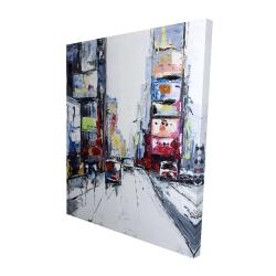 Canvas 48 x 60 - 3D - Time square
