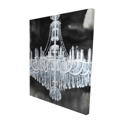 Canvas 48 x 60 - 3D - Glam chandelier