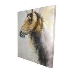 Canvas 48 x 60 - 3D - Wild horse