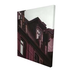 Canvas 48 x 60 - 3D - Architectural building