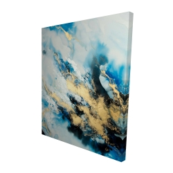 Canvas 48 x 60 - 3D - Blue marble