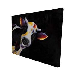 Canvas 48 x 60 - 3D - One funny cow